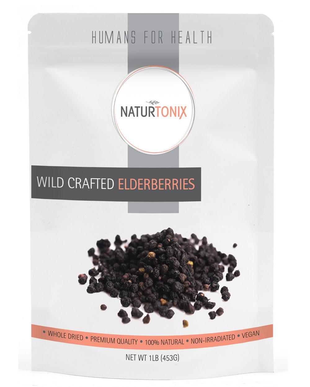 Naturtonix Wildcrafted Elderberries